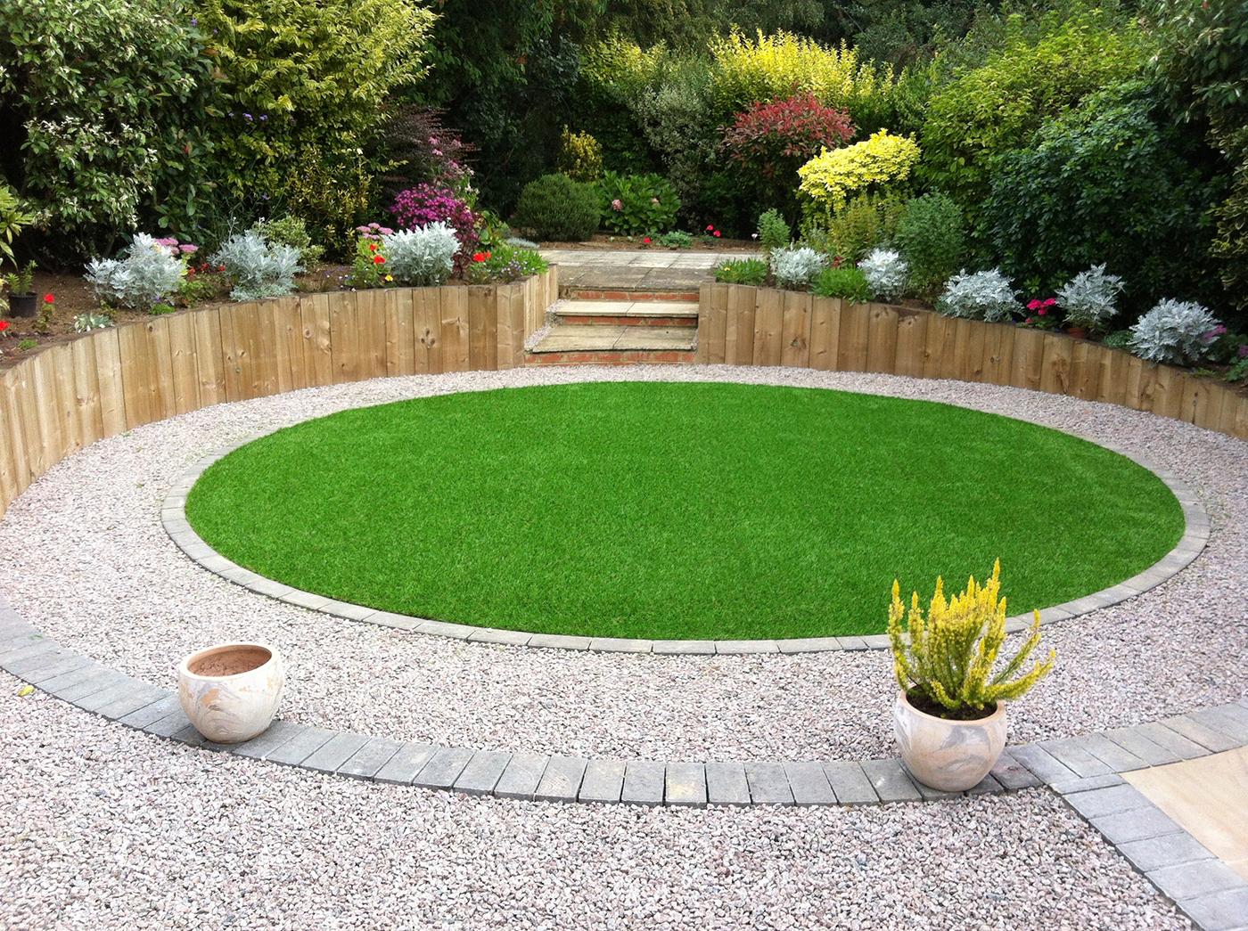 Artificial Grass Projects | Gardens | A Bit of Green on Patio And Grass Garden Ideas id=86706